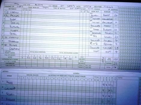 tmgs-vs-ansty2-1-jul2014-tmgs-bowlingfirst-scorebook